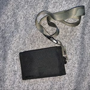 VS Pink lanyard wallet
